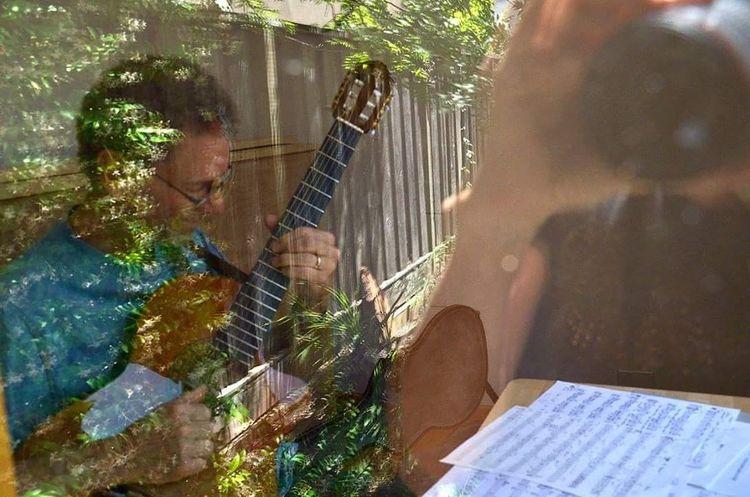 | the guitarist | Art Arts ArtWork Guitarist Music Musicians Guitar Player Gitarre Musiker Jazz JazzMusic Jazzy_obsession JazzMusic Kunst Healdsburg Sonoma Sonoma County California Summer Sommer Picoftheday Creativity Photooftheday Pictureoftheday Eyem Gallery