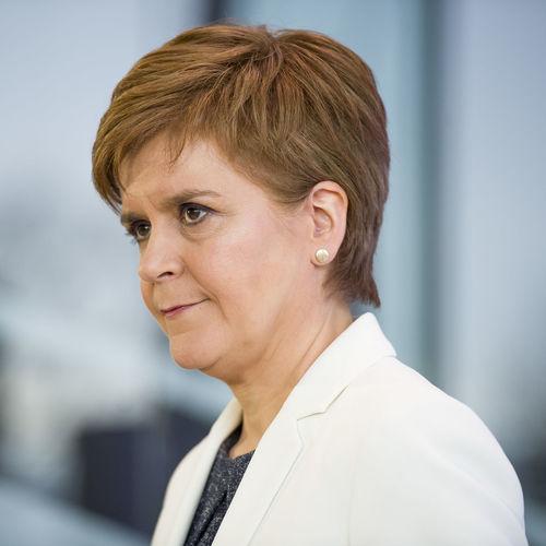 Portrait of woman looking away