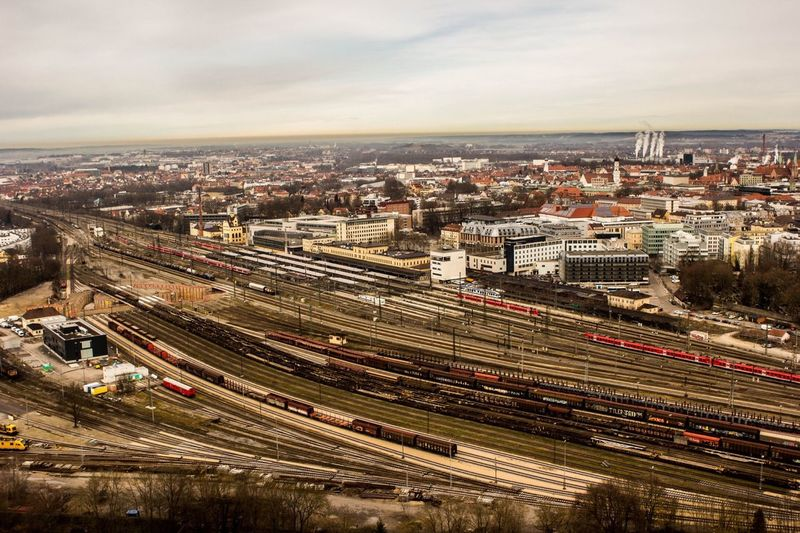 Town Trains High Life Cold Days GERMANY🇩🇪DEUTSCHERLAND@ Lasius
