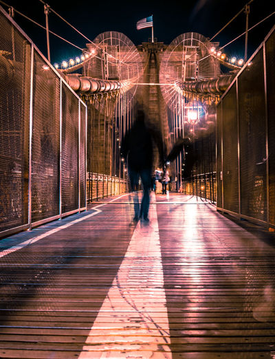 Architecture City City Life Cityscape Cyberpunk EyeEm Best Shots Futuristic NYC NYC Photography New York City Night Lights Nightphotography Bridge City Lights Cityscapes Cyberspace Future Futuristic Architecture Illuminated Neon Lights Newyork Night Tranquil Scene Travel Destinations Urban Skyline