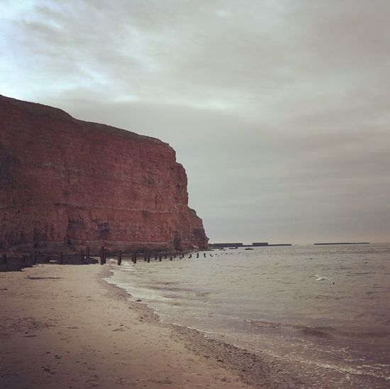 Nature Photography Rock Formation Sky Rock - Object Nature Scenics Sea Horizon Over Water Outdoors Sand Landscape Cliff Travel Destinations Landscape_photography EyeEm Nature Lover Picoftheday Northsea Helgoland EyeEm Best Shots Nordsee