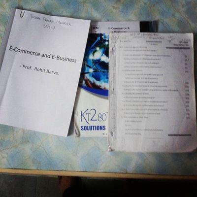 Exam Ucoe Ucoe2015 Beit sem7 IT subjects ecommerce