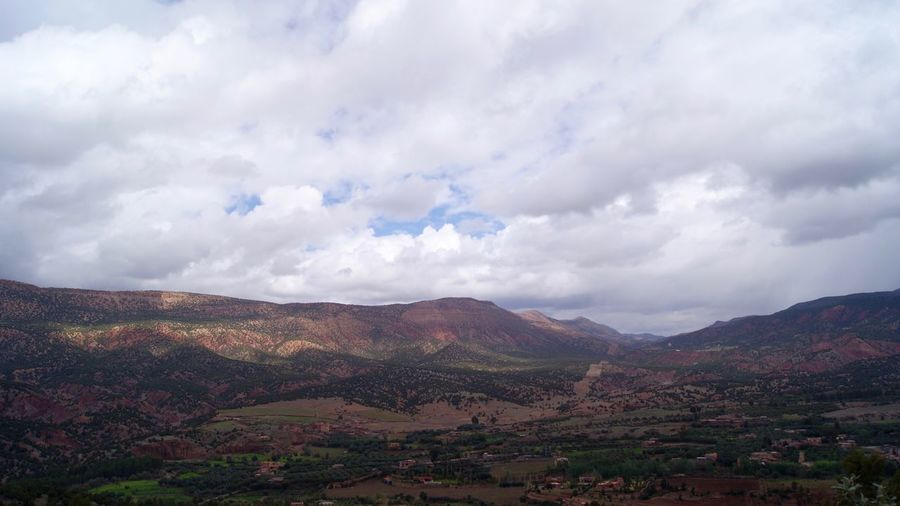 Scenic View Of Marrakesh Countryside
