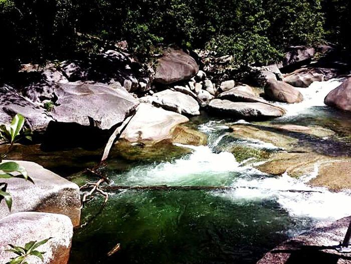 Rocks And Water Waterfall Queensland Australia Tranquil Scene Landscape Scenics Babinda Boulders