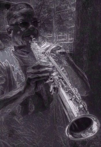 """Saxmandaryl"" Minefee Life = Music = Life Street Music"