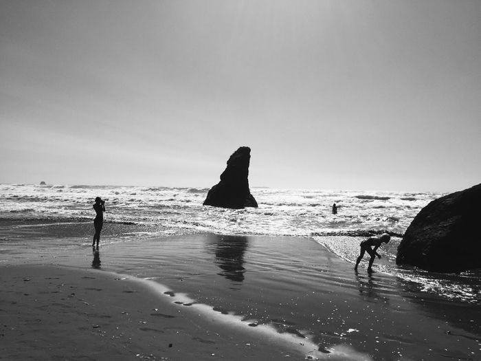 Beach Waves, Ocean, Nature Rocks