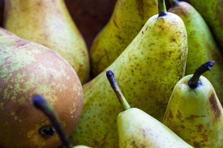 Gruszka Fruit Food Food And Drink Healthy Eating Freshness Day No People Organic Nature Gruszka Jwaniowska Green Color