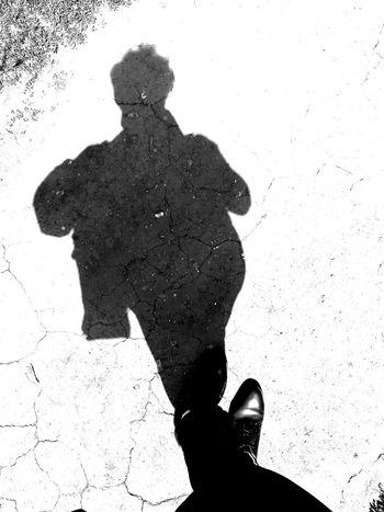 Humen Shadow Sun Reflection Ink Men Silhouette