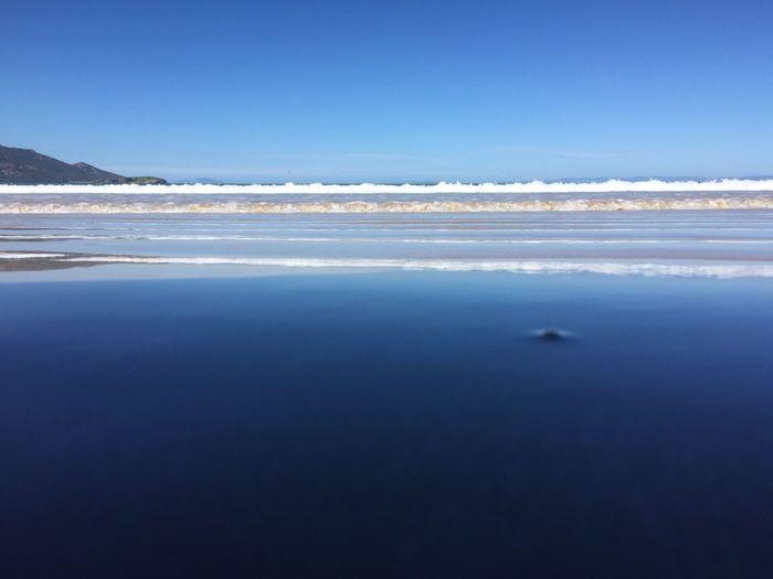 Waves Line Freycinet Tasmania Photographic Approximation