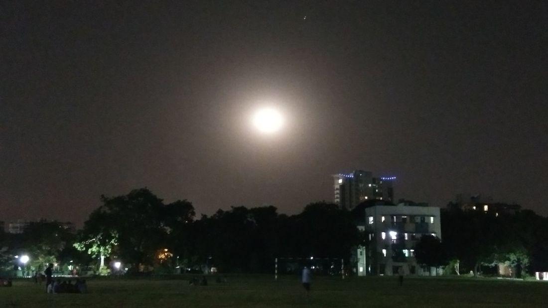 . Night Outdoors Sky