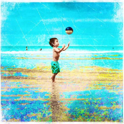 ..a jugglers son in old times would follow in his father's footsteps Emography Portrait ..beach Art Tiny Island Check This Out Taking Photos Enjoying Life Relaxing ..life Is Burning Bright