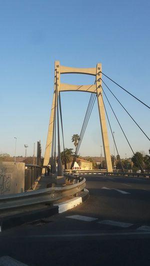 Johannesburg Jozi Bridge Sunday Afternoon