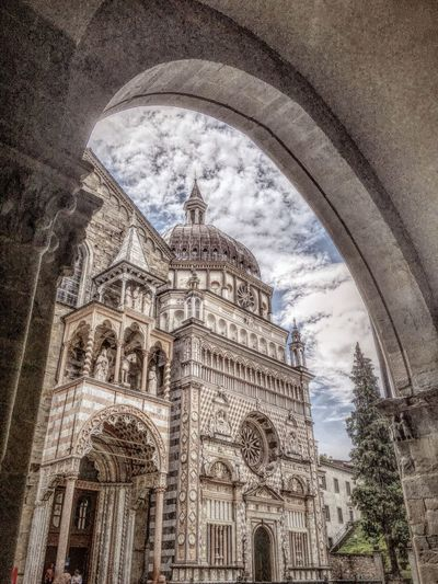 Iphonephotography IPhone 6s Mix Filter Italy Architecture Bergamo Cathedral