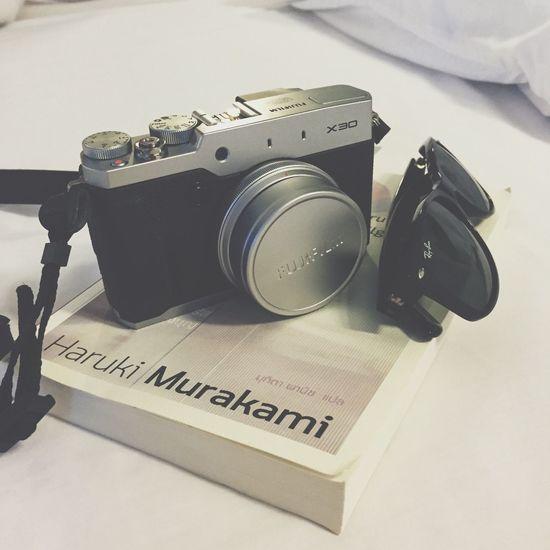 Fujifilm X30 Wayfarer Haruki Murakami