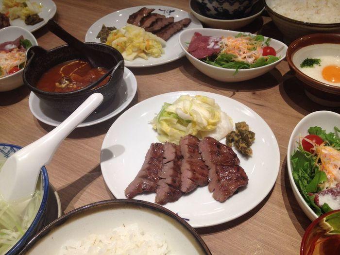 牛タン〜 Food And Drink Food Meat Bowl Plate Ready-to-eat Freshness Indoors  High Angle View Table No People Healthy Eating Beef Meal Close-up Pork Day Rib
