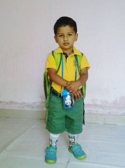 Abhiraj now go to school.....