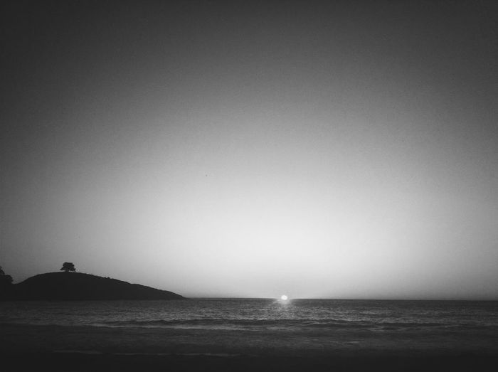 Sunset ? ? Zapallar Taking Photos Black & White EyeEm