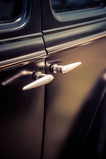 SuicideHotrod Doors II Chrome Door Handles Classic Car HotRod Suicide Automobile