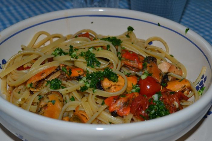 Appetizer Close-up Cooked Cozze Dinner Food Food And Drink Freshness Indoors  Indulgence Italy Linguine Alla Pescatora Linguinepasta Meal No People Pasta Plate Pranzo Ready-to-eat Seafood Serving Size Soup Temptation Vegetable Vegetarian Food