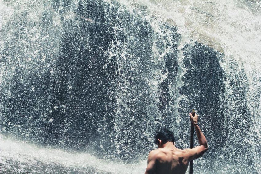 Water Splashing Leisure Activity Lifestyles Outdoors Waterfall Waterfall #water #landscape #nature #beautiful EyeEm Nature Lover EyeEmNewHere EyeEmNewHere