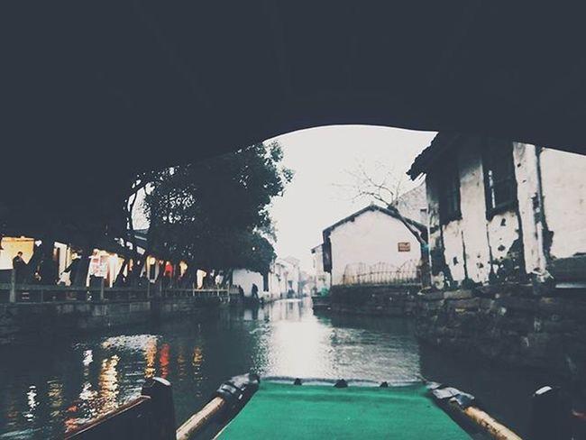 Zhouzhuang Boat Ancient Beautiful VSCO Photo Phone Cool 摇曳的周庄