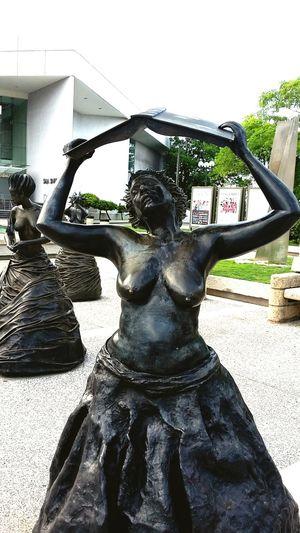Muses Bronze Sculpture