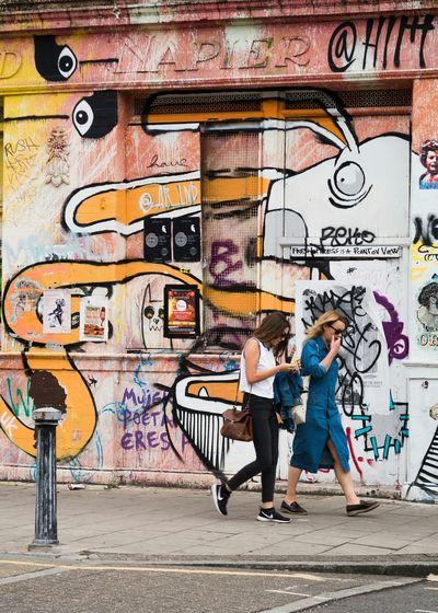 Doing the Hackney Walk Streetphotography Street Art Graffiti Art Derelict Building Street London Hackney Wick