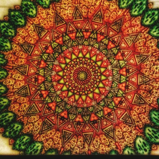 No People Mandala Art