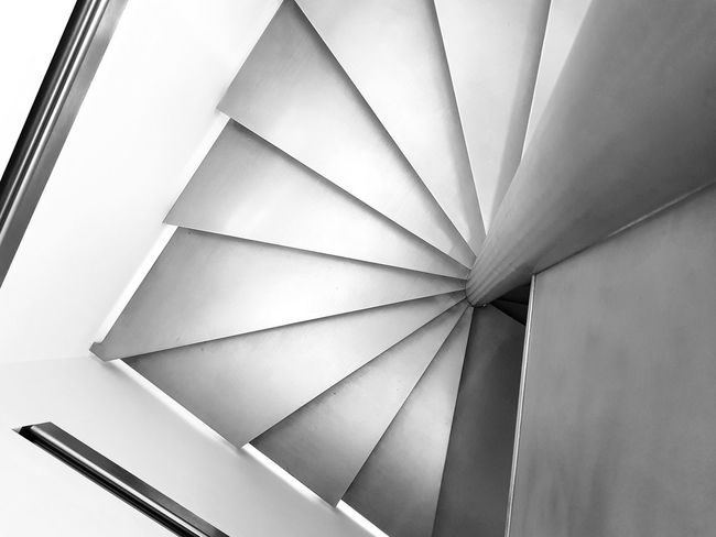 Blackandwhite Stairs Paris Abstract Architecture Full Frame Close-up The Graphic City