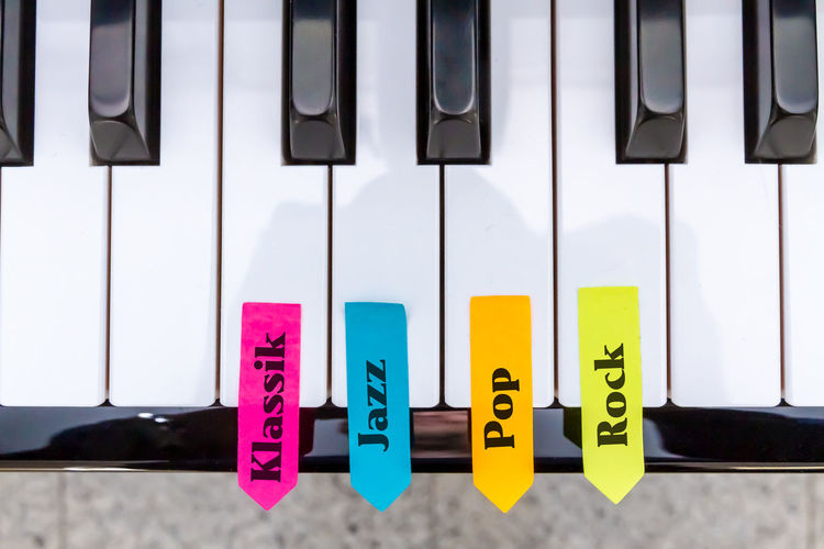 Play the piano Text Piano Pianist Music Musician Piano Player Jazz Rock Popular Photos Swing Classic Music School School Education Style Music Style  Fun Happy Colors Colorful Keyboard Instrument Playing Nobody Symbol