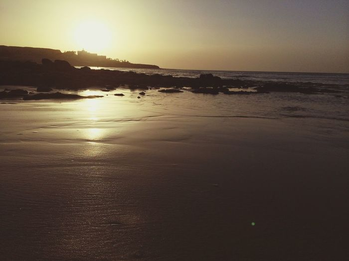 Wie ich es vermisse bei Sonnenaufgang am Strand zu joggen :( Fuerteventura Beach Sports Sunrise