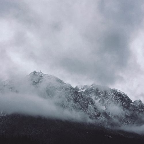 Cloud - Sky Sky Beauty In Nature Nature Mountain No People Scenics - Nature Power Power In Nature Day Environment Non-urban Scene Outdoors Tranquility Snow Mountain Peak Tranquil Scene
