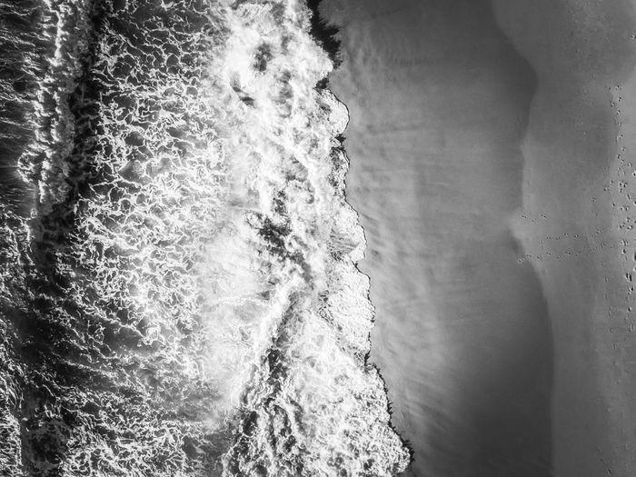 Close-up of sea waves