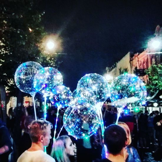 HUAWEI Photo Award: After Dark Crowd Illuminated Bubble Wand Nightlife Multi Colored Fun The Art Of Street Photography