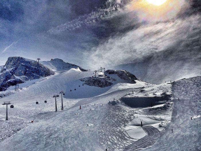 Glacier skiing in Hintertux/Austria Skiing IPhoneography EyeEm Best Shots Taking Photos