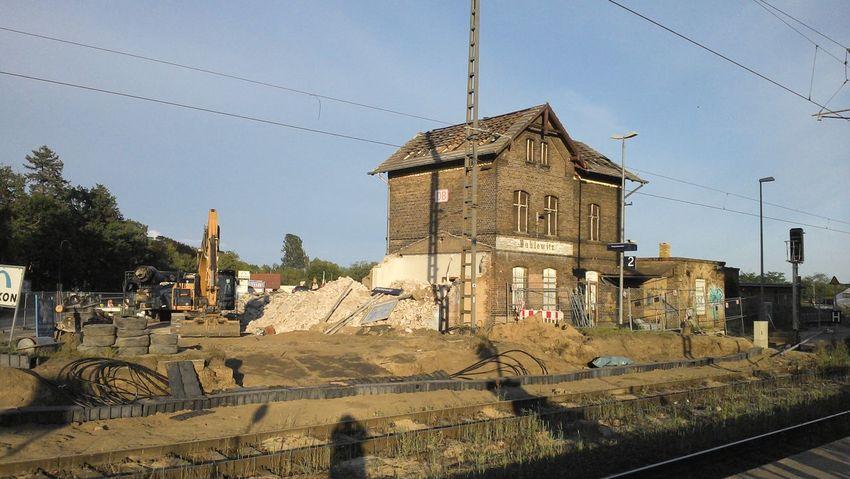 Bahnhof Dahlewitz, jeden Tag etwas weniger?