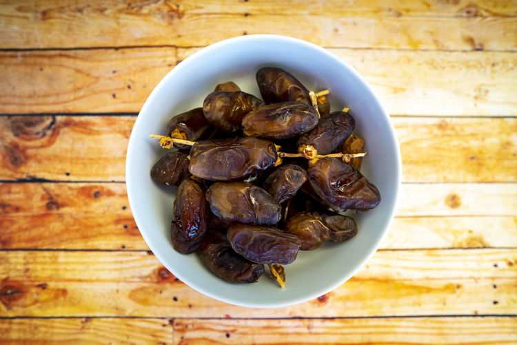 Dates fruits on wooden table. Ramadan muslim concept. No People Close-up Food And Drink Food Freshness Ramadan  Dates Fruits ♡ Middle East Arab Wooden Eid Iftar Puasa Muslim Islam