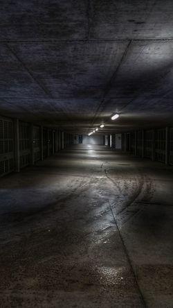 Car Garage Corridor