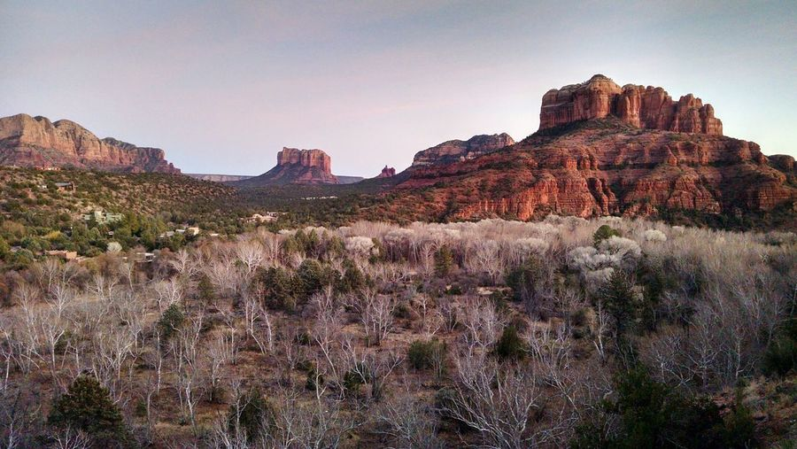 Sedona Red Rocks Rock Hoodoo Eroded Sandstone Natural Landmark Geology Physical Geography Rugged Semi-arid Limestone Cliff Extreme Terrain