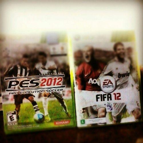 PES 2012 ou FIFA 2012 ?