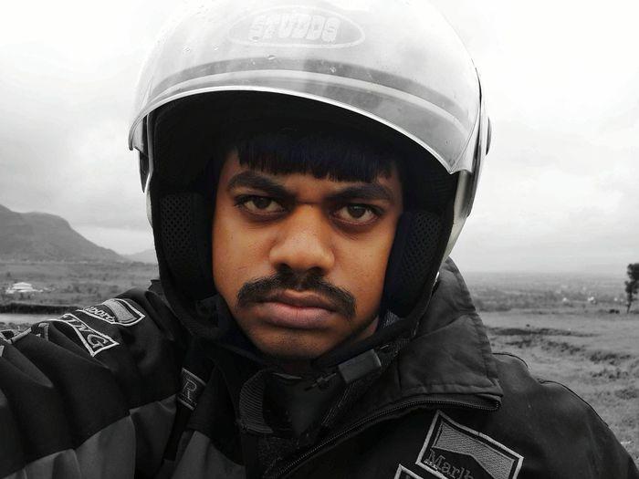 motorcycle rider Helmet Activa Motorcycle Headwear Portrait Looking At Camera Headshot Men War Protection Sports Helmet Biker