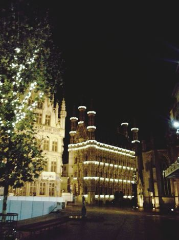 Lights on in Leuven! Kerstmis Christmas City Hall Christmas Market