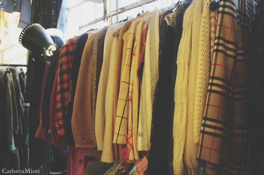 Old Dress Retail  Hanging Choice Store Clothing Variation Clothing Store For Sale Market Coathanger Large Group Of Objects Clothes Rack Market Stall Small Business Indoors  Dress Vecchio Vintage Close-up No People Boutique Bazaar Vestiti Fotografia -CM