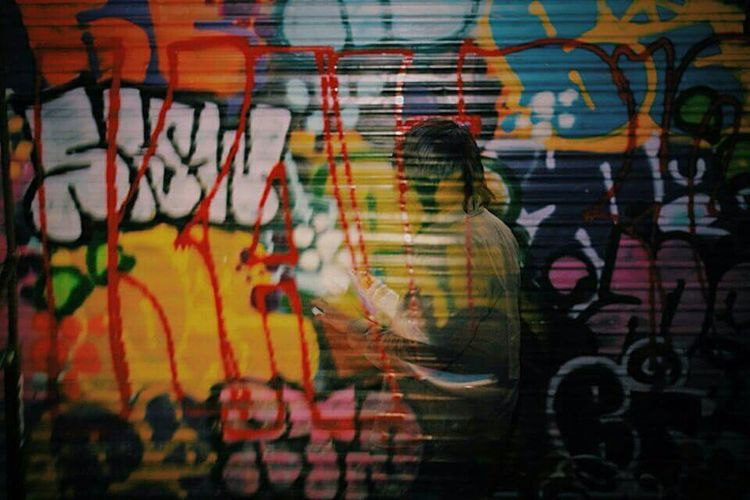 Long Exposure Graffiti Hanging Out San Antonio Photography Sanantoniotx