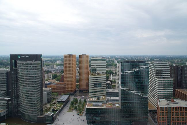 Zuidas view from WTC Tower EyeEmNewHere Zuidas Building Exterior Built Structure Architecture City Sky Building Cityscape