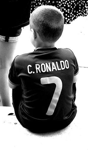 T-shirt football ronaldo