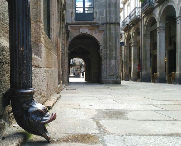 Santiago De Compostela Pedras Auga Agua Zona Vella Zona Vieja Rúa Vella Details Detalles DetallesDeLaCiudad Detalles Que Enamoran