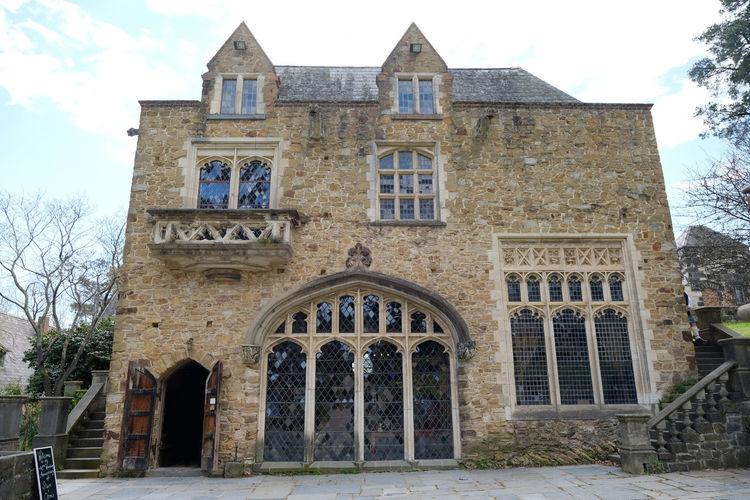Shot at Montsalvat, Eltham. Architecture Castle Exterior Gothic Building