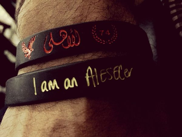 AIESECer Aiesecegypt Aiesec AlAhly Egypt Proud Wristband Dark Red Eagle 74