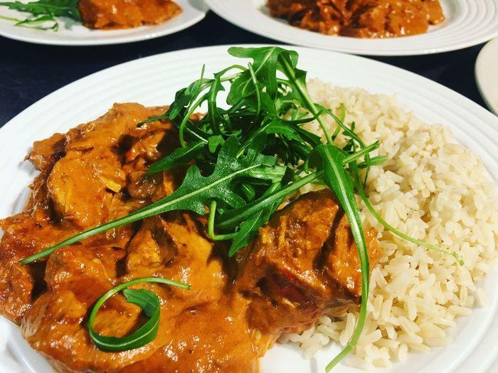 Homemade curry